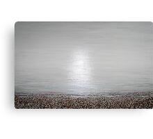 the beach : still life Canvas Print
