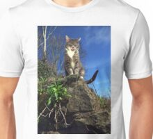 Hungry cat Unisex T-Shirt