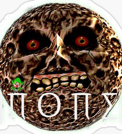 ˛|∏ O ∏ ∑|¸ (none) Moon Logo Sticker