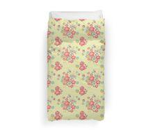 Painterly Flowers Duvet Cover