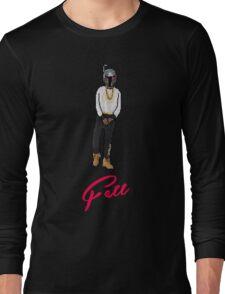 Boba Fetty Wap - ( Pixel Art ) Long Sleeve T-Shirt