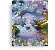 Duck Mountain and Nature eye Canvas Print