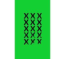 15 Xs Photographic Print