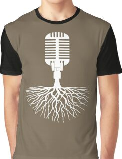 Musical Roots (Microphone) Graphic T-Shirt