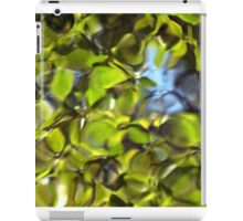 Tiles of Leaf and Sky iPad Case/Skin