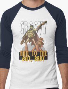 Hail to the Bat Men's Baseball ¾ T-Shirt
