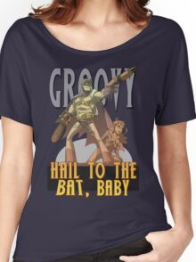 Hail to the Bat Women's Relaxed Fit T-Shirt