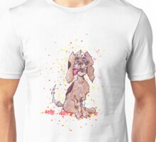 Zombie Puppy Wants Brains Unisex T-Shirt