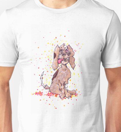Zombie Puppy Wants Brains Unisex T-Shirt