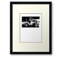 Back to the Future - Rolling ! Framed Print