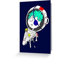 Space-out Boy Greeting Card