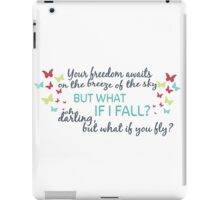 My love affair with Erin Branson poetry iPad Case/Skin