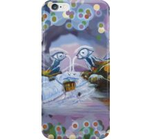 Duck Mountain and Nature eye iPhone Case/Skin