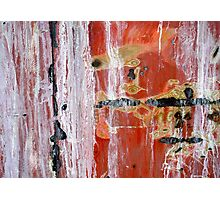 Abstract Painting Untitled #45 Photographic Print