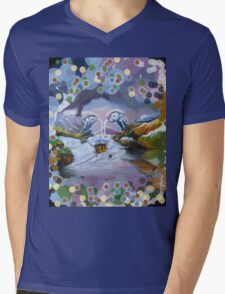Duck Mountain and Nature eye Mens V-Neck T-Shirt
