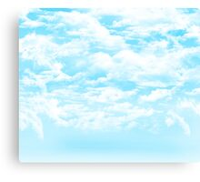 Sky Clouds Canvas Print