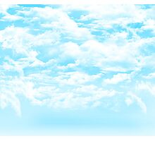 Sky Clouds Photographic Print