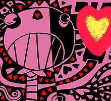 Happy Heart Day by Mike Cressy