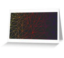 String fade  Greeting Card