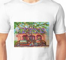 THE CUP CAKE SHOP MONTREAL CANADIAN ART Unisex T-Shirt