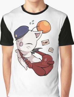 Delivery Moogle - Final Fantasy Graphic T-Shirt