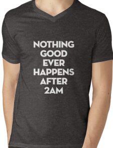 After 2AM Mens V-Neck T-Shirt