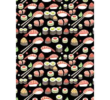 delicious Japanese sushi   Photographic Print