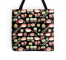 delicious Japanese sushi   Tote Bag