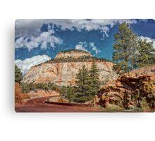 Layered Cake Mesa Canvas Print