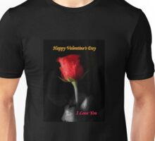 *Valentine Rose* Unisex T-Shirt