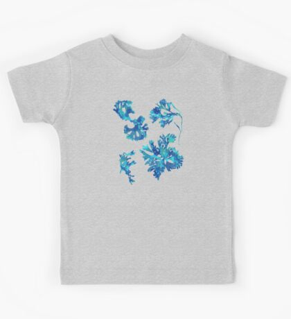 Abstract Seaweed Art Kids Tee
