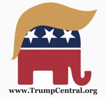 Donald Trump GOP Elephant Hair ©TrumpCentral.org Kids Tee