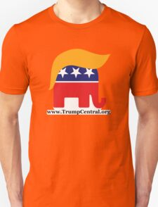 Donald Trump GOP Elephant Hair ©TrumpCentral.org T-Shirt