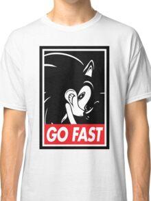 GO FAST Classic T-Shirt