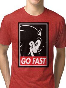 GO FAST Tri-blend T-Shirt