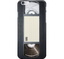 VHS tape case  iPhone Case/Skin