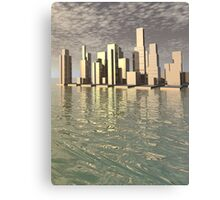 Home By The Sea Canvas Print