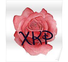 Chi Kappa Rho Rose Poster