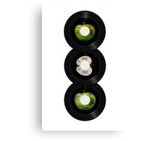 45 Spin-Fab Four Canvas Print