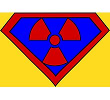 Hero, Heroine, Superhero, Super Radioactive Photographic Print