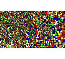 Cubo di Rubik Photographic Print