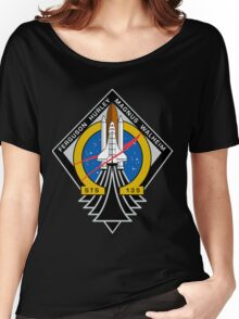 STS-135 Final Shuttle Mission Patch Women's Relaxed Fit T-Shirt