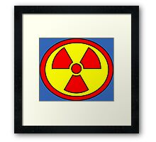Hero, Heroine, Superhero, Super Radioactive Framed Print
