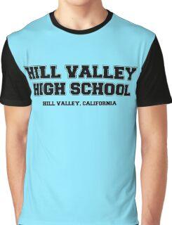 Hill Valley High School Graphic T-Shirt