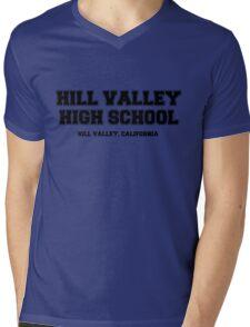 Hill Valley High School Mens V-Neck T-Shirt
