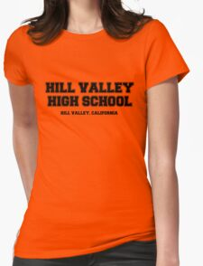 Hill Valley High School Womens Fitted T-Shirt
