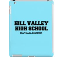 Hill Valley High School iPad Case/Skin