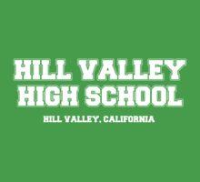 Hill Valley High School One Piece - Short Sleeve