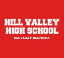 Hill Valley High School One Piece - Short Sleeve