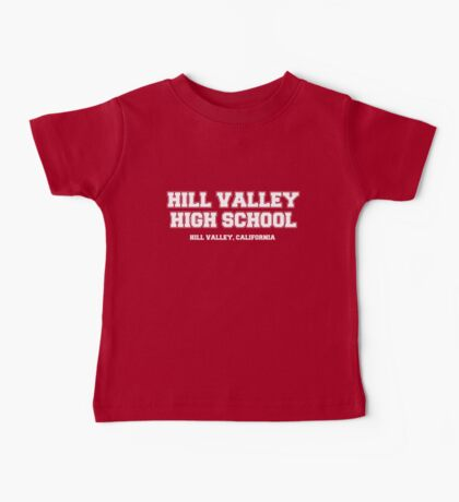 Hill Valley High School Baby Tee